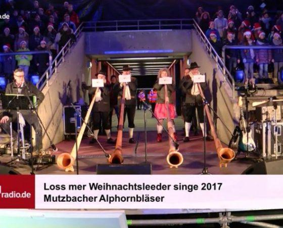 Alphorn Weihnachtslieder.Mutzbacher Alphornbläser Die Kölner