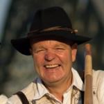 Martin Wiemer von den Mutzbacher Alphornbläsern